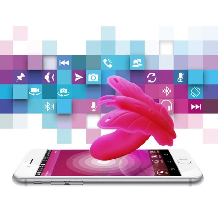 Стимулятор для клитора Realov Lydia I - Smart Butterfly Vibe - App Control