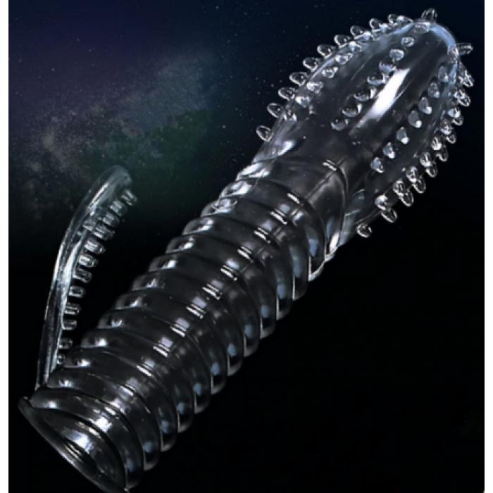 Насадка на пенис с пупырками