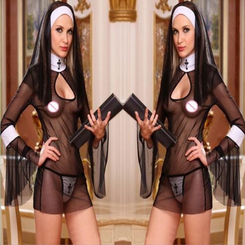 Эротический костюм монашки
