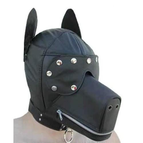 Черная маска собаки