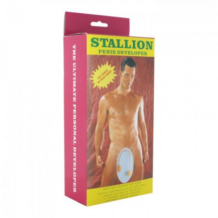 Вакуумная помпа Stallion Penis Developer, 18Х5 см