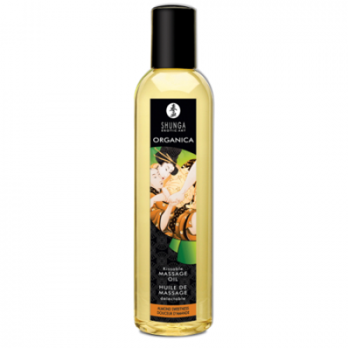 Органическое массажное масло Shunga Massage Oil Organic Миндаль, 170 мл