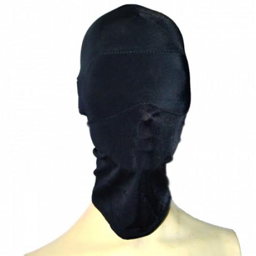 Сплошная шлем-маска, черная