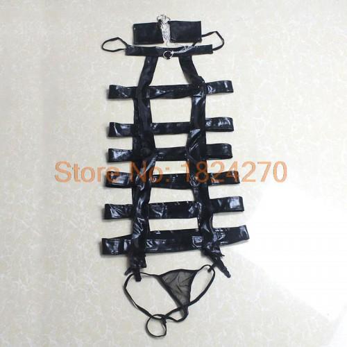 Виниловый коплект с наручниками