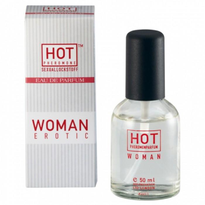 Женские духи с феромонами HOT  50 мл