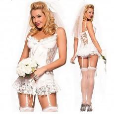 Эротический костюм невесты