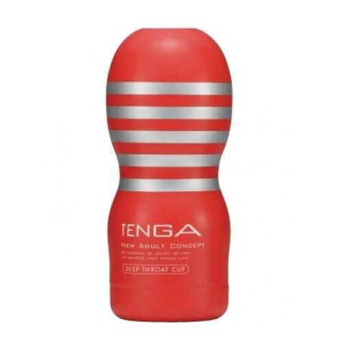 Мастурбатор Tenga Deep Throat Cup, 15х6 см