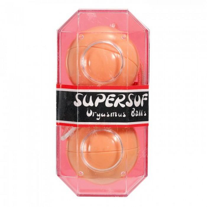 Вагинальные шарики Supersoft, 3,5 см