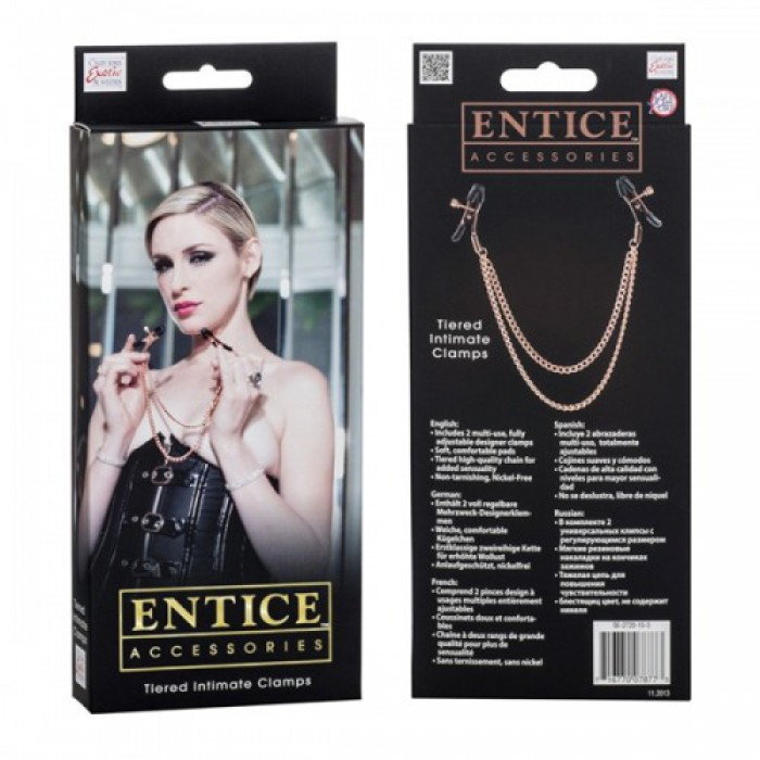 Entice Tiered Intimate Clamps