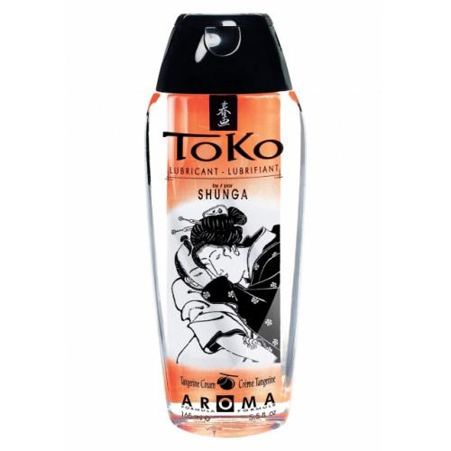 Оральный лубрикант со вкусом мандарина Toko Tangerine (Shunga), 165 мл
