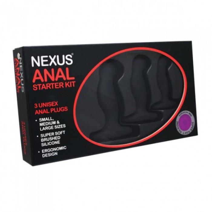 Набор анальных пробок Nexus Anal Starter Kit