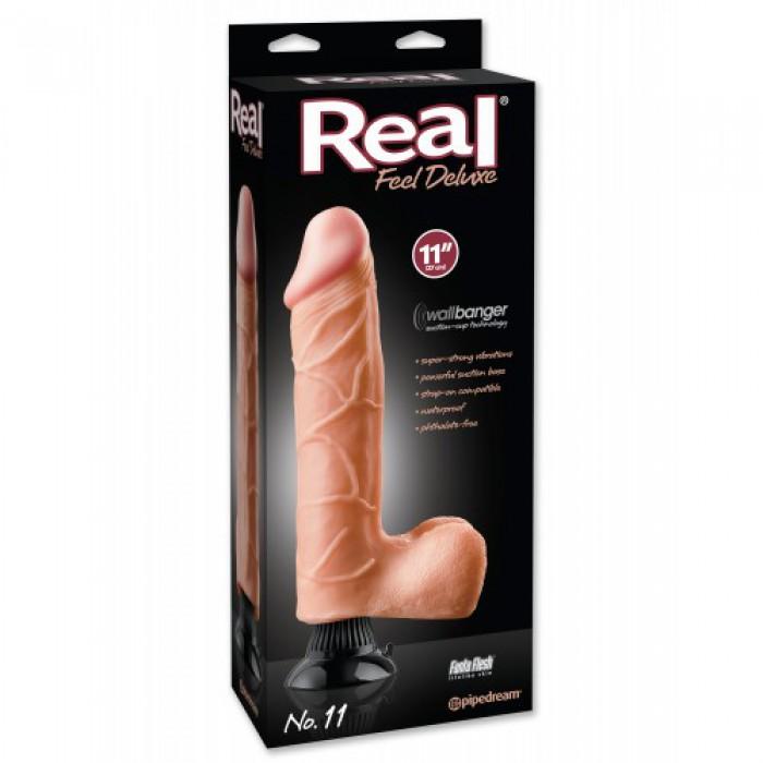 Вибратор Real Feel Deluxe №11, 24,1Х6,4 см