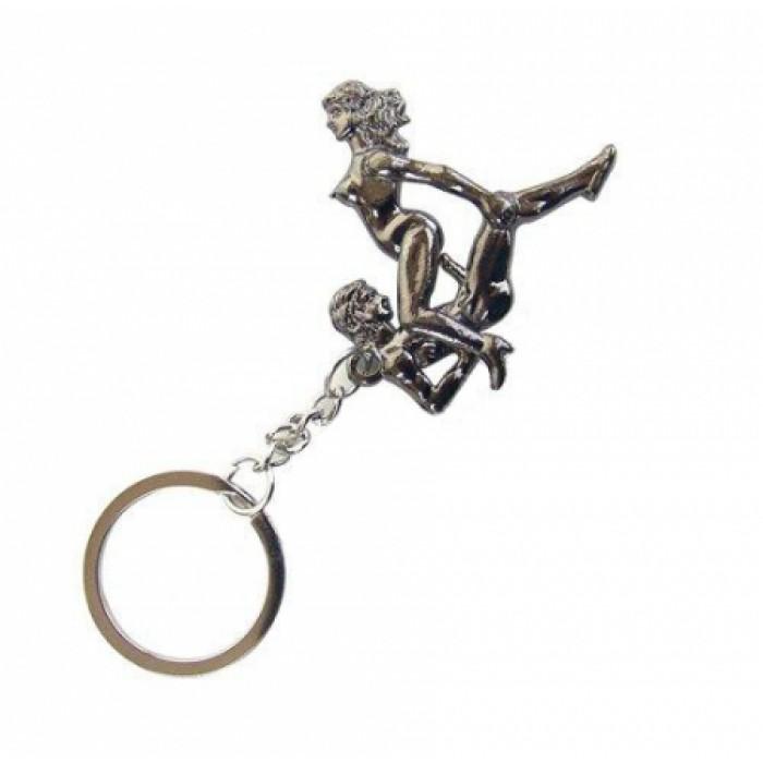 Брелок сексуальная поза Funny Sexy Keychain