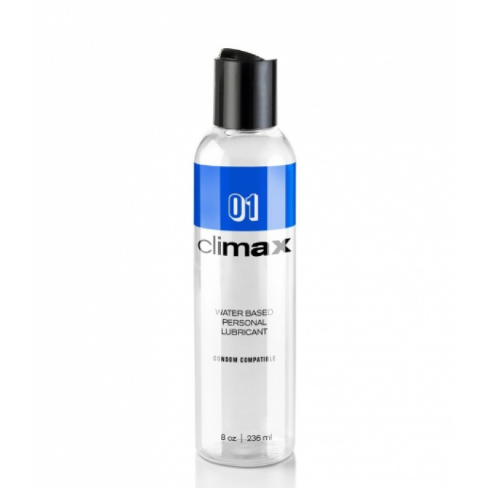 Climax 1: Condom Compatible Water Based Lubricant 8 fl. oz.