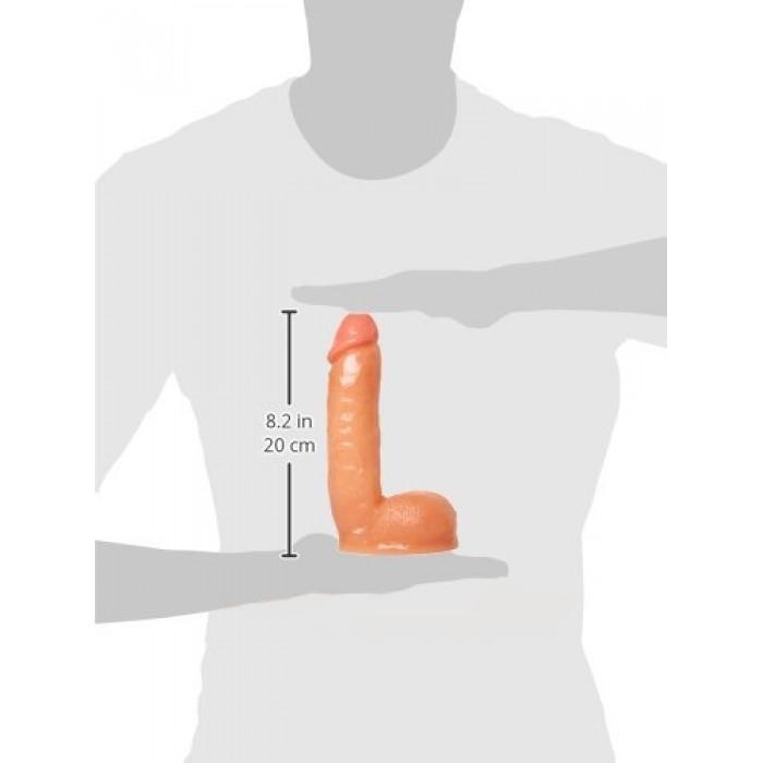 Фаллоимитатор с имитацией семяизвержения Veiny Victor Ejaculating Squirt Cock, 16,5х4,8 см