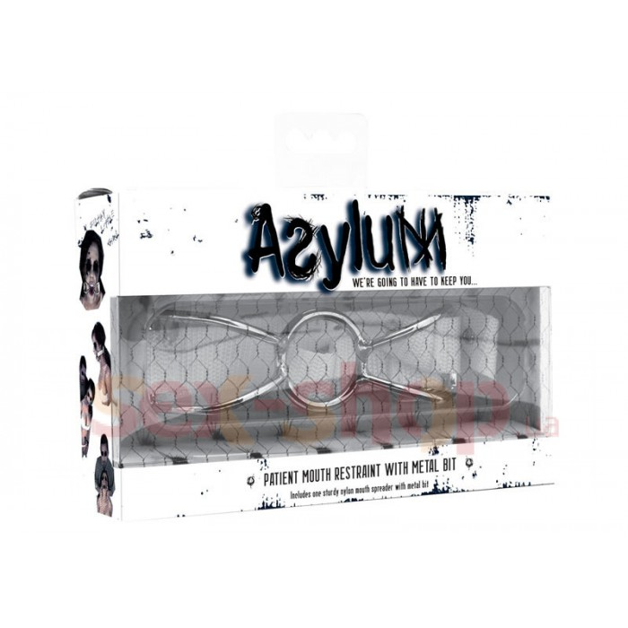 Фиксатор для рта Asylum Mouth Restraint with Metal Bit
