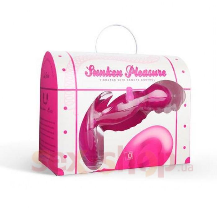 Анальная вибропробка Морская Фея FunZone Sunken Pleasures Sea Faerie, 11,4х3,8 см