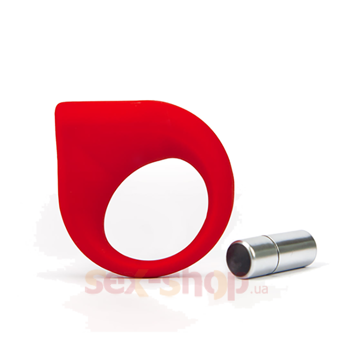 Эрекционное кольцо с вибрацией TLC Hard-on Vibrating Silicone Cock Ring