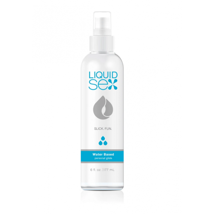 Topco Sales Liquid Sex Water Based Personal Glide, 6 fl. oz. - лубрикант на водной основе, 177 мл