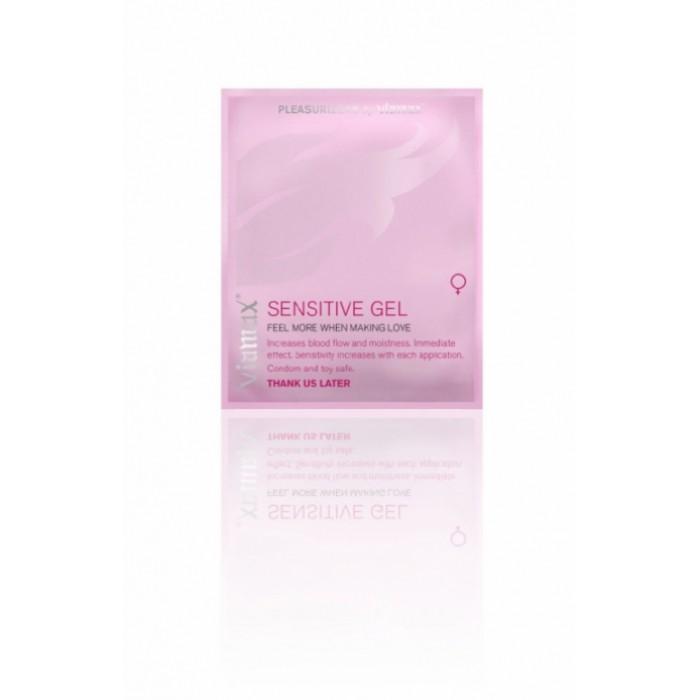 Возбуждающий гель для женщин Viamax Sensitive gel 2 мл.