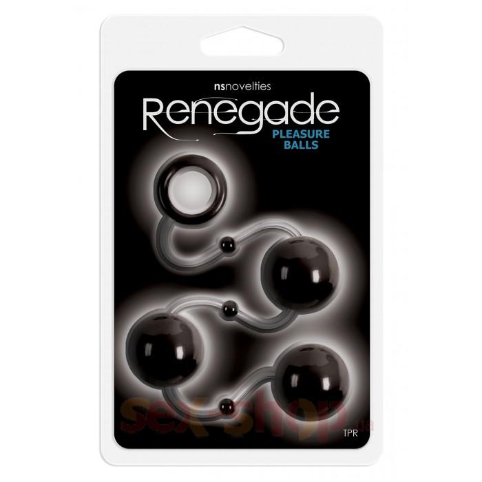 Анальные шарики Renegade Pleasure Balls