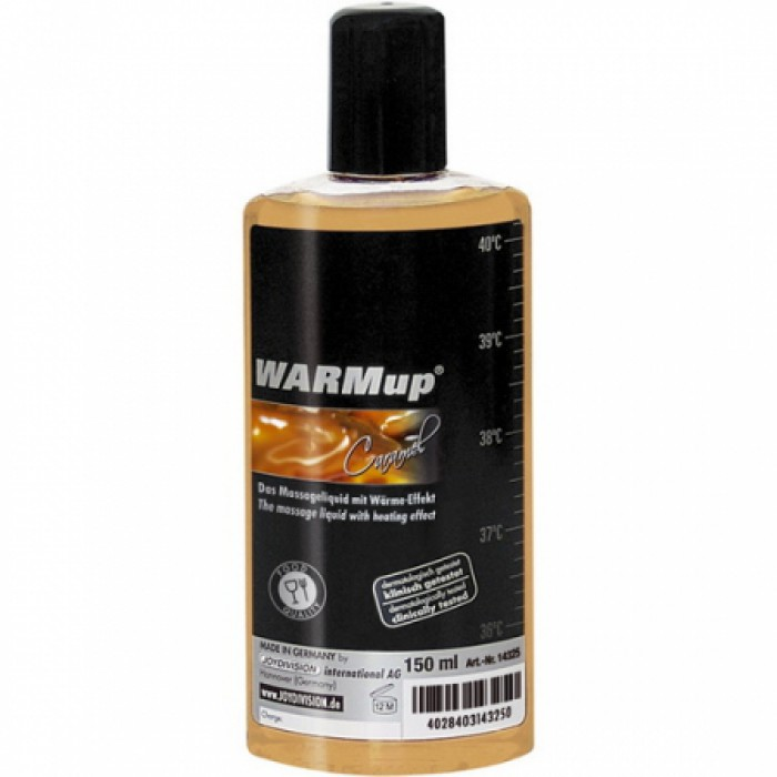 "Массажное масло ""Warmup"", карамель, 150 мл"