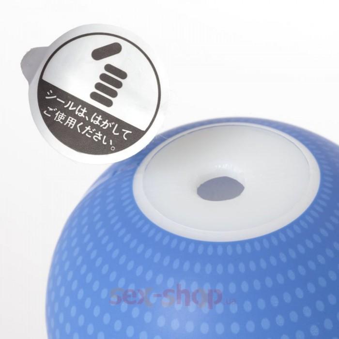 Genmu-Fleshy-Blue - мастурбатор, 15.8х6.7 см.