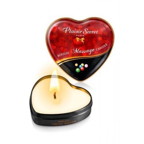 Массажная свеча Bubble gum Plaisir Secret, 35 мл