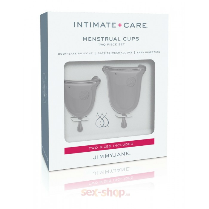 Jimmyjane Menstrual Cups - набор менструальных чаш, 14 мл и 21 мл
