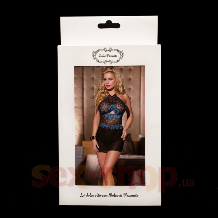 Облегающая кружевная сорочка - Dolce Piccante