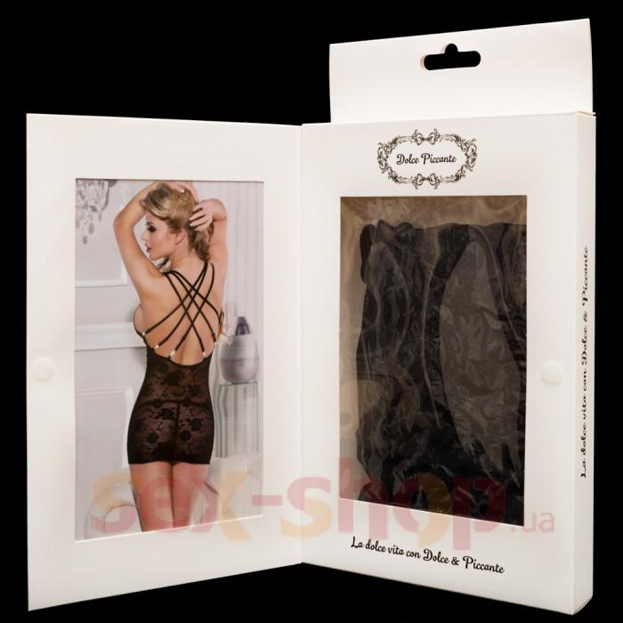 Сексапильное платьице с прорезями на груди Dolce Piccante