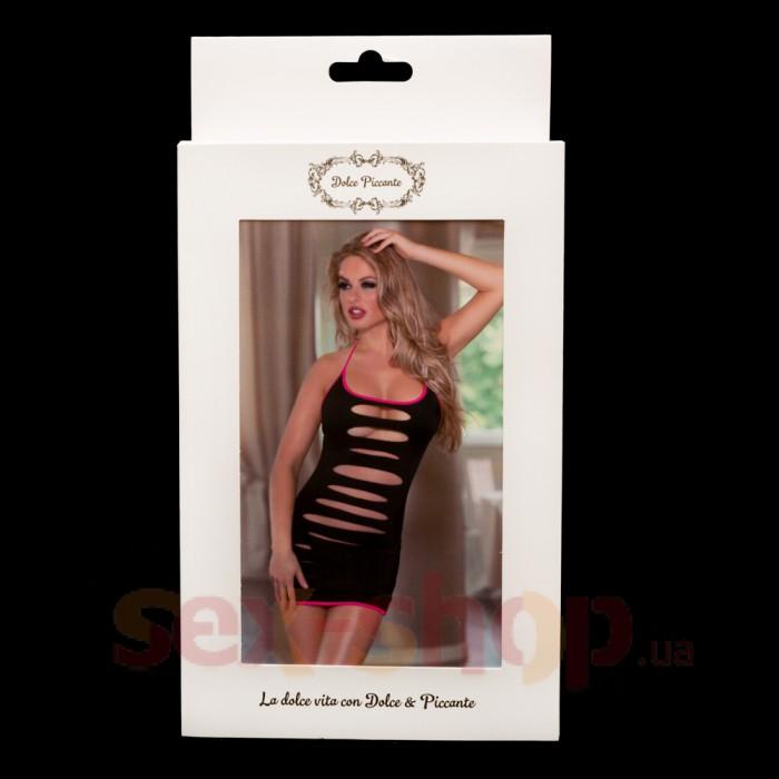 Эротичное платье с разрезами и трусики - Dolce Piccante