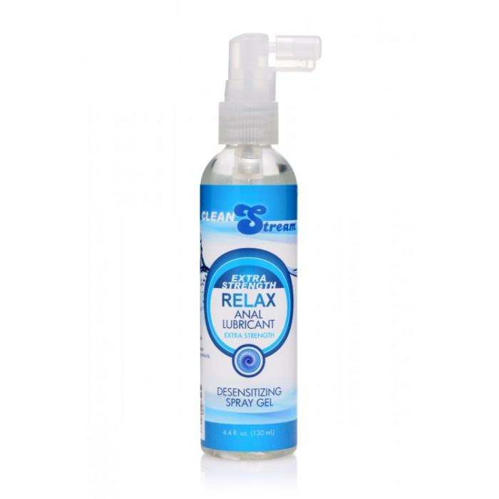 Relax Extra Strength Anal Lube - обезболивающая анальная смазка, 130 мл.