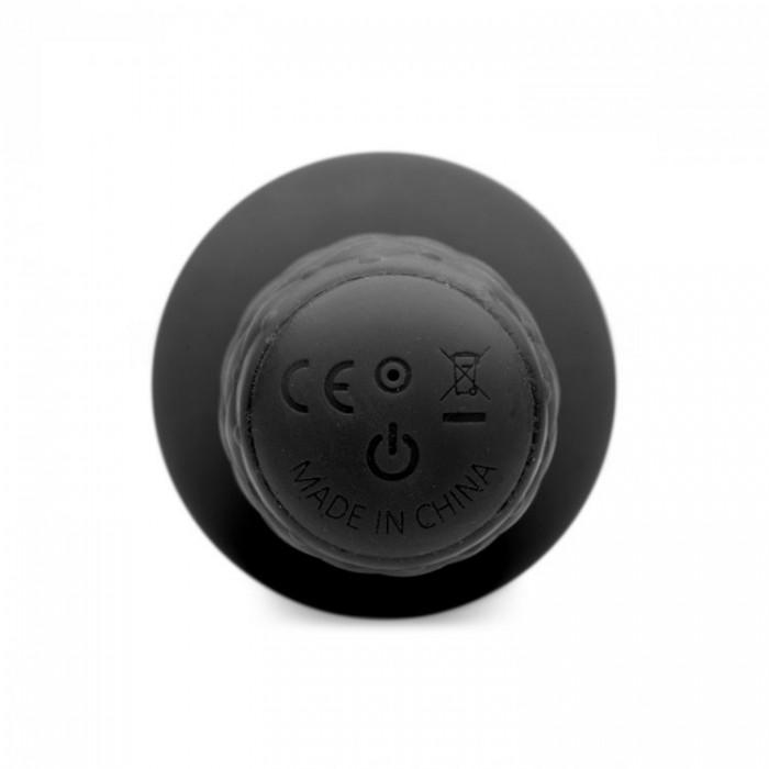 The Plug 10x Silicone Vibrating Thruster - анальный вибратор с рукояткой, 18.4х3.8 см.