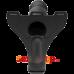 Doc Johnson Body Extensions Be Rique - страпон с вибрацией, 20х5 см