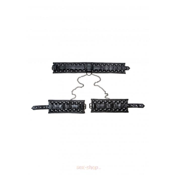 X-Play Collar & Wrist Cuffs - ошейник с наручниками