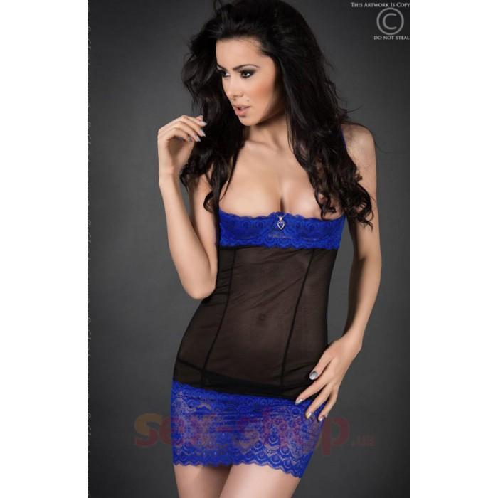 Мини платье с открытой грудью Chilirose