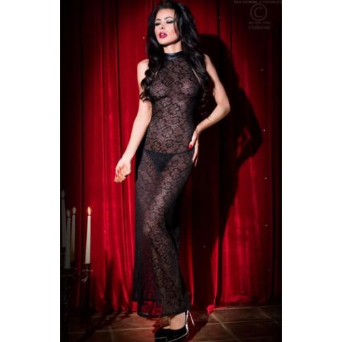 Эротичное длинное кружевное платье Chilirose
