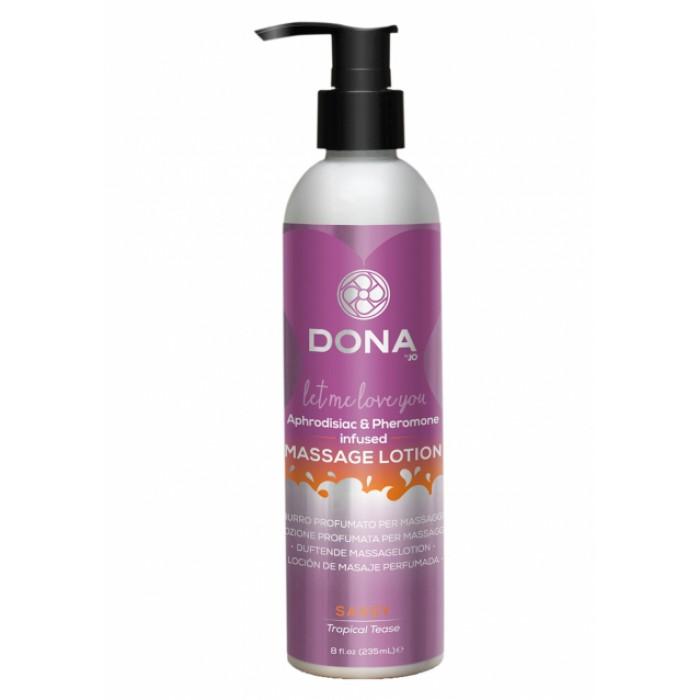 Массажный лосьон Massage Lotion Tropical Tease 235ml