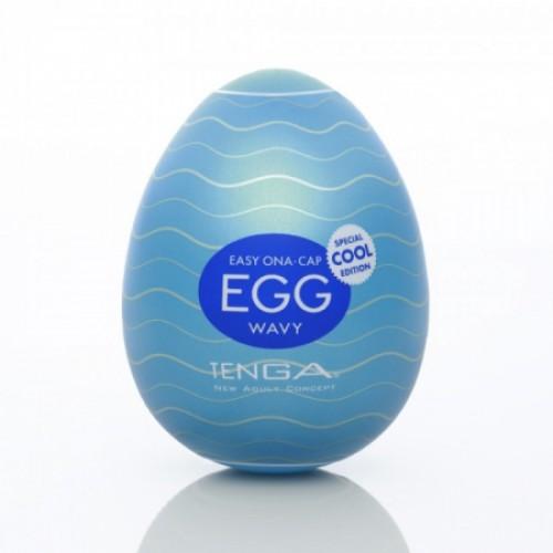 Мастурбатор-яичкоTenga Egg Cool White OS