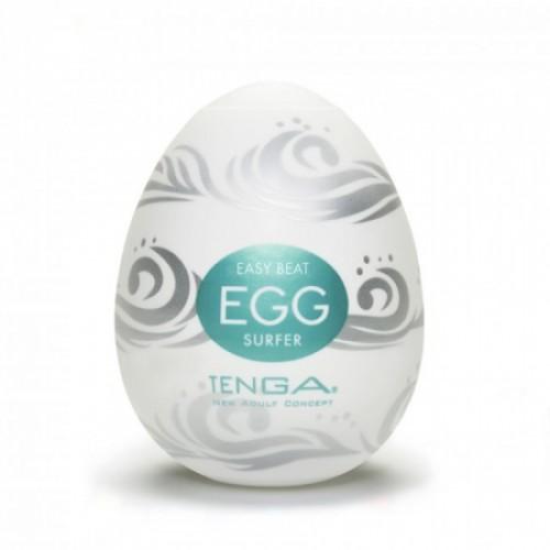 Мастурбатор-яичкоTenga Egg Surfer White OS