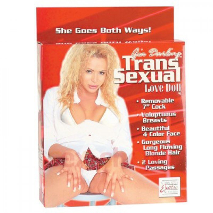 CalExotics Gia Transsexual Love Doll - надувная кукла транссексуал