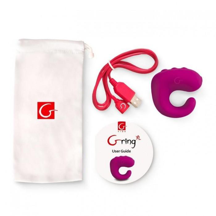Gring XL - Gvibe (Англия) - мини-вибратор на палец