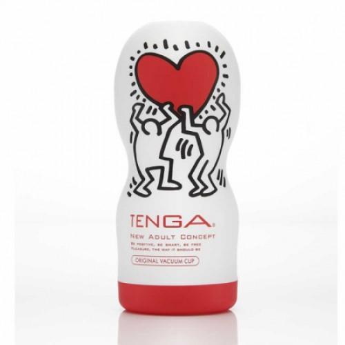 Мастурбатор Tenga - Keith Haring Original Vacuum Cup