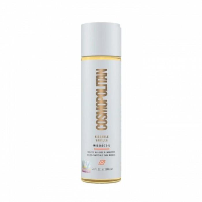 Cosmopolitan Kissable Massage Oil Vanilla - съедобное массажное масло ваниль, 120 мл