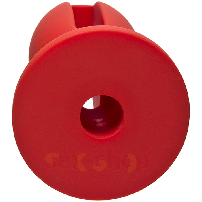 "Doc Johnson Kink Lube Luge Premium Silicone Plug 5"" - силиконовая анальная пробка, 11,43х4,8 см"