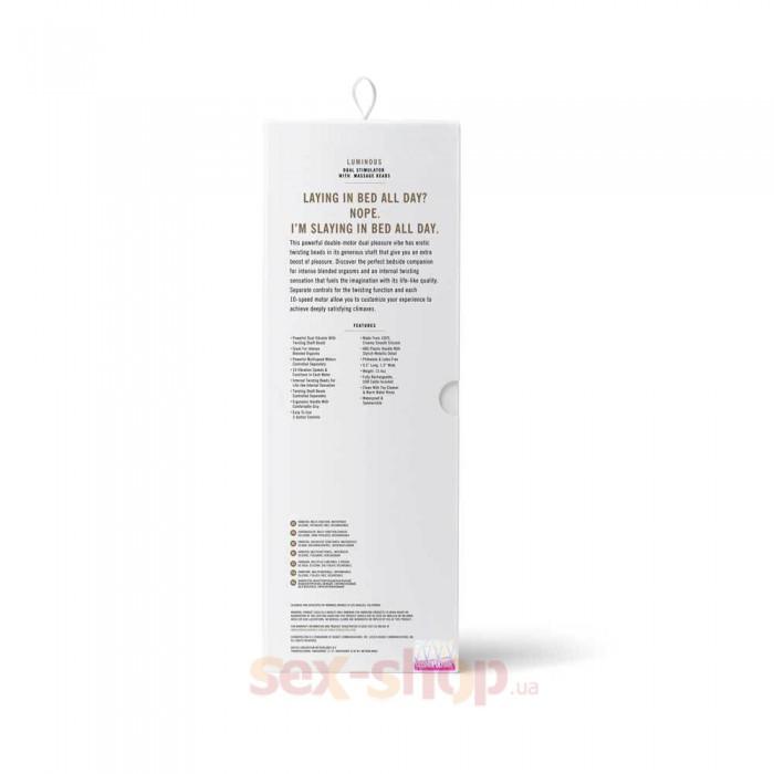 Cosmopolitan Luminous Rabbit Vibrator - силиконовый вибратор кролик, 24,1х3,3 см