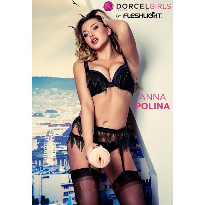 Fleshlight Girls Dorcel Anna Polina мастурбатор, 23х2 см.