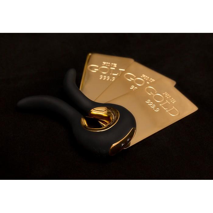 Эксклюзивный вибромассажер Gvibe MINI GOLD с 24К золотом (Англия). Лимитированный выпуск!