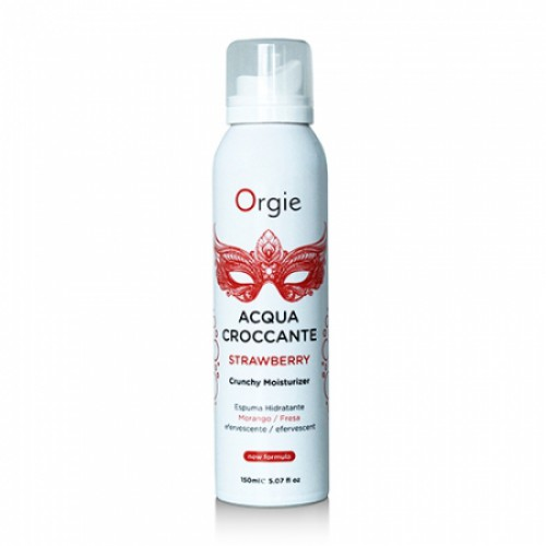 Orgie Acqua Crocante Strawberry - массажная пена, 150 мл